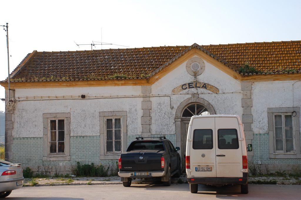 Estação de Cela, near Nazaré.