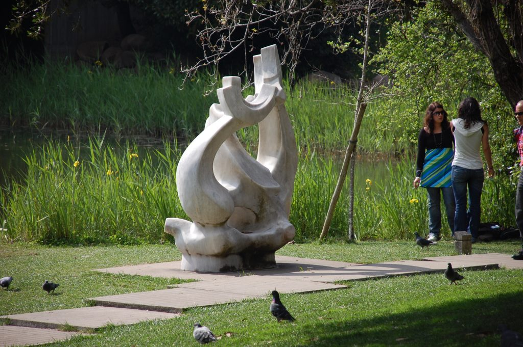 One of several sculptures around the grounds at the Fundação Calouste Gulbenkian.