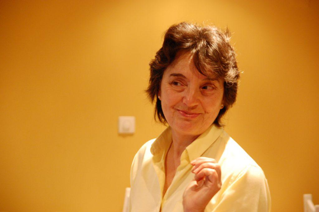 Anna, The gracious hostess at Quinta das Rosas in Nazaré.
