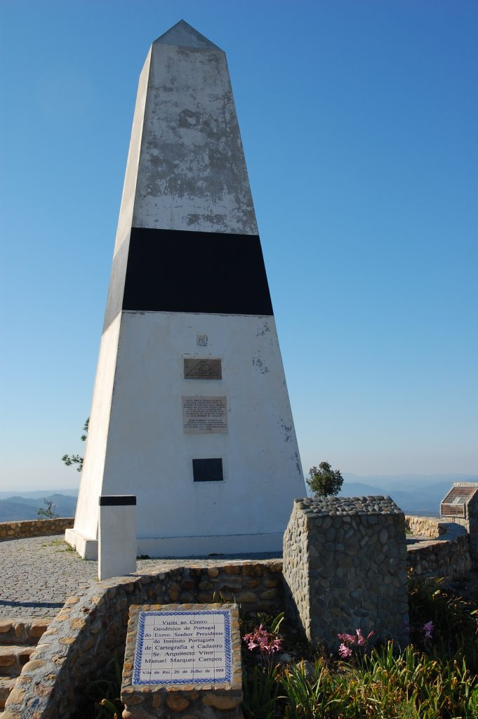 Centro geodésico de Portugal.