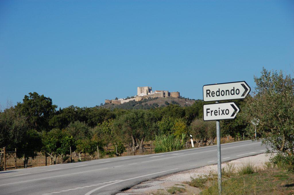 Évoramonte, looking north.