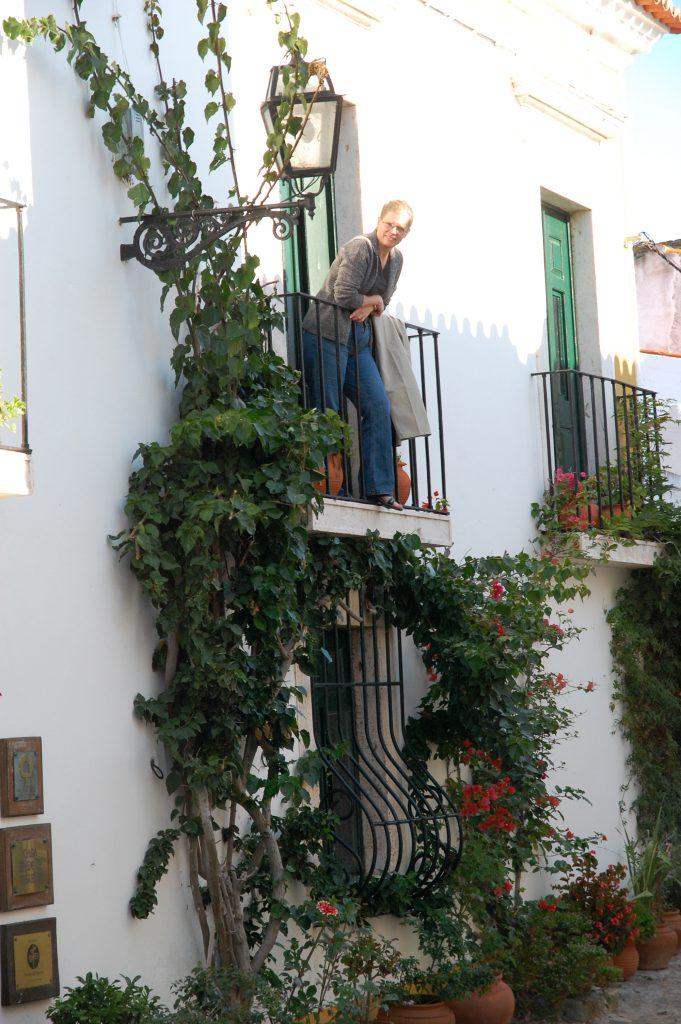 At Casa de Terena.