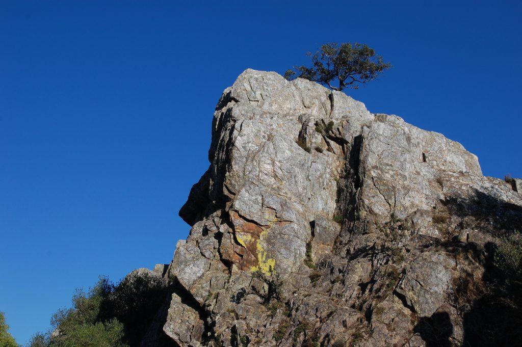 Highest point at Rocha da Mina.