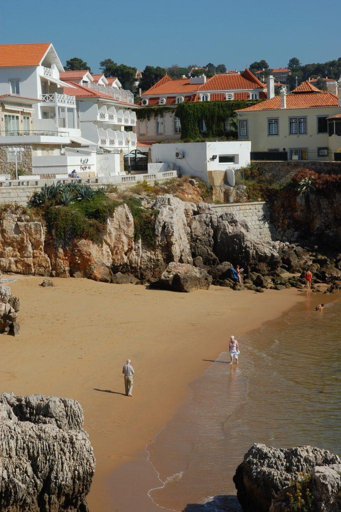 Praia da Rainha.