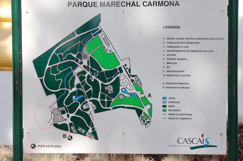 Parque Marechal Carmona.