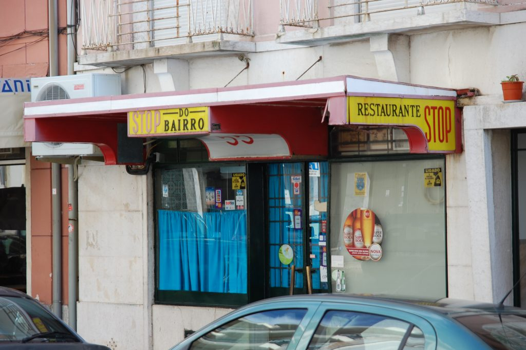 Stop do Bairro. This has quickly become one of our favourite restaurants in this area.