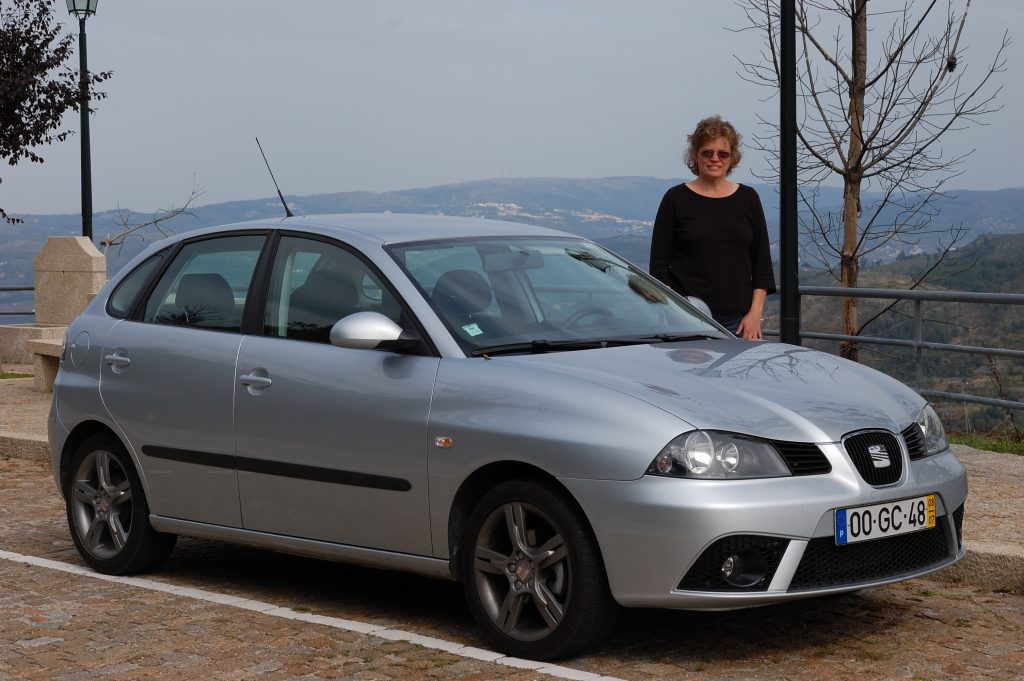 Very nice carro - a Fiat Ibiza (diesel).