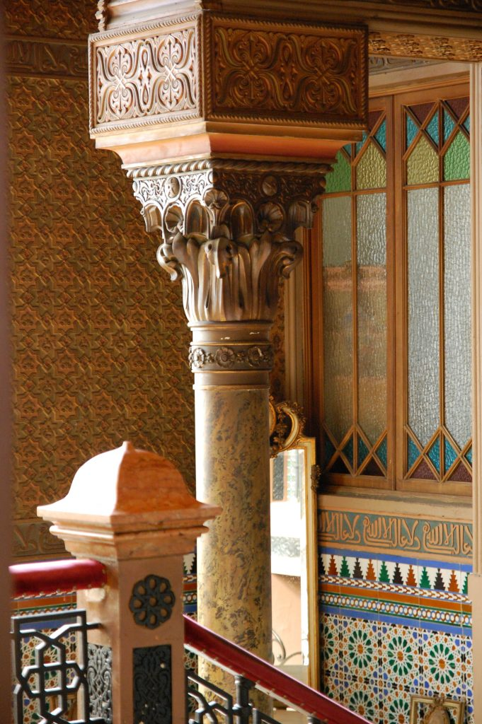 Column study (Susan's favourite) in Casa do Alentejano.