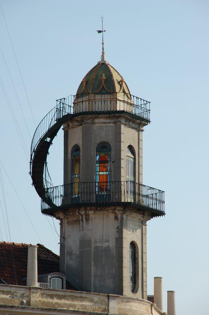 At the top of Calçada do Lavra.
