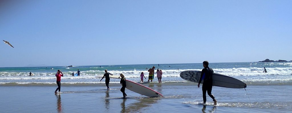 Beach in Tauranga